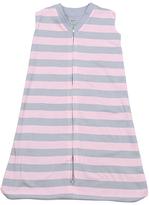 New Jammies Pink & Gray Stripe Organic Sleep Sack - Infant