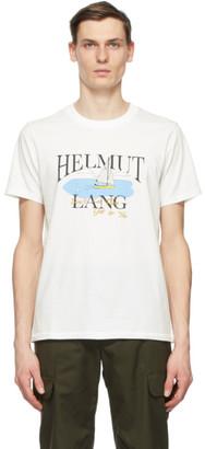 Helmut Lang White Saintwoods Edition HL Ocean T-Shirt