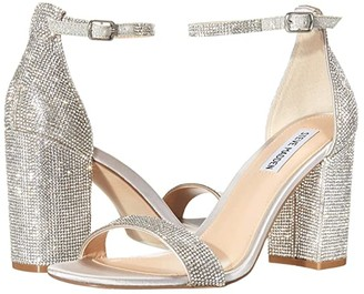 Steve Madden Gigi-R Heeled Sandal (Rhinestone) Women's Shoes