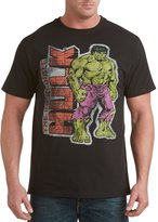 CasualMale Incredible Hulk Big & Tall Short Sleeve Graphic T-Shirt (6XTALL, )