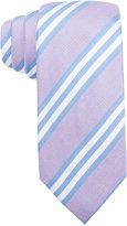 Tasso Elba Tivoli Double Stripe Tie, Only at Macy's
