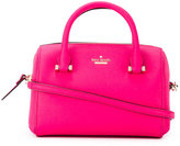 Kate Spade logo plaque tote - women - Leather - One Size