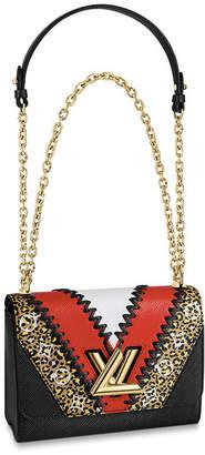 Louis Vuitton Twist Monogram Giant Jungle MM Black/Coquelicot Red