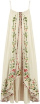 Mes Demoiselles Josephine floral-embroidered cotton dress