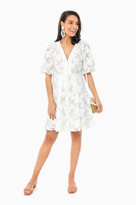 Tanya Taylor White Darline Dress