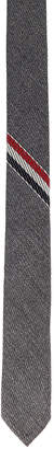 Thom Browne Classic School Uniform Necktie in Medium Grey | FWRD