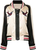 Miharayasuhiro embroidered bomber jacket