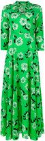 P.A.R.O.S.H. floral print maxi dress - women - Silk/Spandex/Elastane - XS