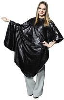 Salon Care Black Vinyl Shampoo Cape