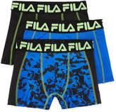 Fila Boy'S Underwear 3-Pair Hanging 3 Pair Boxer Briefs Boys