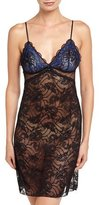 Lise Charmel Dentelle Sapphire Lace Nightie, Black/Blue
