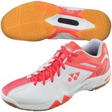 Yonex Women's Power Cushion SHB-02 LX Badminton Shoe - Coral