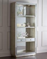 John-Richard Collection Regent Mirrored Bookcase