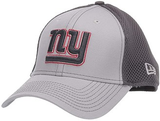 New Era NFL Grayed Out NEO 39THIRTY Flex Fit Cap - New York Giants (Gray/Black) Baseball Caps