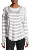 Vimmia Soothe Striped Pullover Sweater, Gray/White