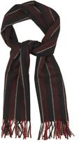 Saint Laurent Striped wool scarf