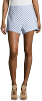 Finders Keepers Better Days Stripe Wide Cuff Short