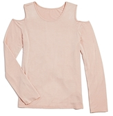 Splendid Girls' Cold-Shoulder Top - Big Kid