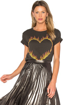 Lauren Moshi Croft Fire Heart Tee