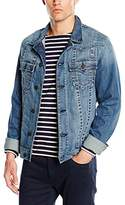 True Religion Men's Jimmy Western Denim Long Sleeve Jacket