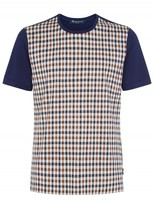 Aquascutum Thornton Club Check Tee