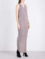 Rick Owens Moody V-neck velvet gown