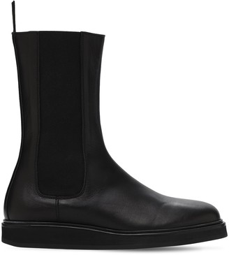 LEGRES 20mm Leather Chelsea Boots