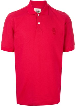 Kent & Curwen Three Lions pique polo shirt