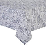John Lewis Nordic Wipe Clean Tablecloth, Blue