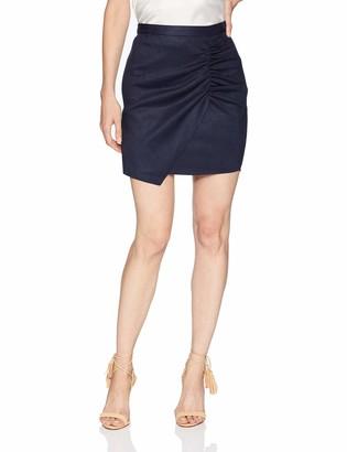 BCBGeneration Women's Shirred WRAP Skirt