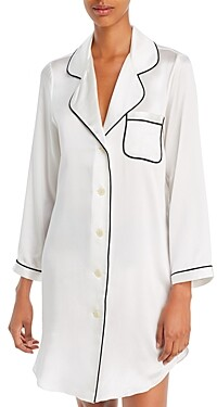 Morgan Lane Jillian Silk Nightshirt