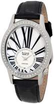 Burgi Women's BUR058SS Swiss Quartz Diamond Strap Watch