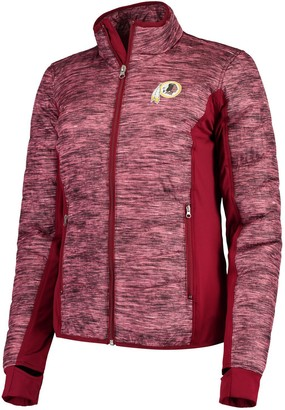 Redskins Women's G-III 4Her by Carl Banks Burgundy Washington Huddle Full-Zip Jacket