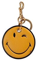 Anya Hindmarch Wink Smiley Leather Key Ring