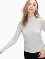 Splendid Melange Sylvie Rib Shoulder Slit Top