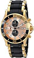 Invicta Men's 80138 Sea Spider Analog Display Japanese Quartz Black Watch