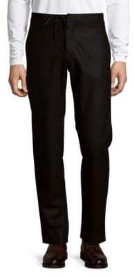 Maison Margiela Tapered Drawstring Wool Pants