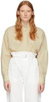 Isabel Marant Off-White Silk Macao Shirt