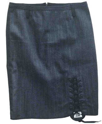 Jean Paul Gaultier Black Denim - Jeans Skirts