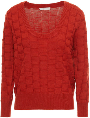 Joie Textured Wool-blend Sweater