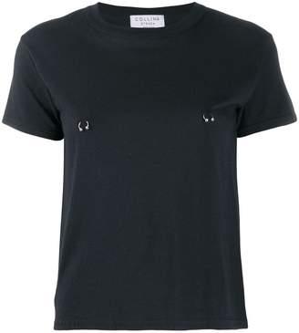 Collina Strada pierced T-shirt