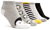 Forever 21 Penguin Ankle Socks - 5 Pack