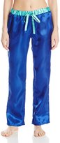 Bottoms Out Women's Satin Pajama Pant