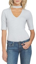 1 STATE Women's 1.state Band Neck Bodysuit