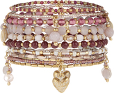 Accessorize 10x Eclectic Stretch Bracelet Set
