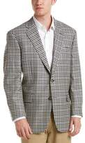 Brooks Brothers Fitzgerald Suit With Flat Front Pant.