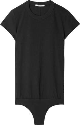 Alexander Wang Cotton-jersey Bodysuit