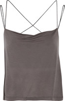 Koral Compass draped stretch-jersey tank