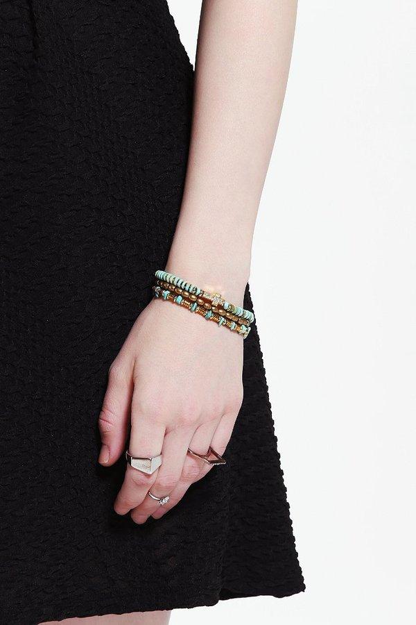 Vanessa Mooney Bright Side Of The Road Bracelet - Set of 3