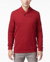 Tasso Elba Men's Textured Shawl-Collar Pullover, Only at Macy's